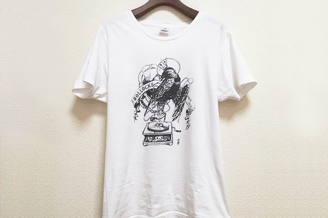 HOPE DOEさんにデザインしてもらったTシャツ